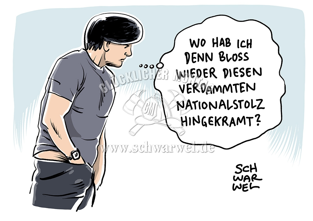 Jogi Löw Cartoon