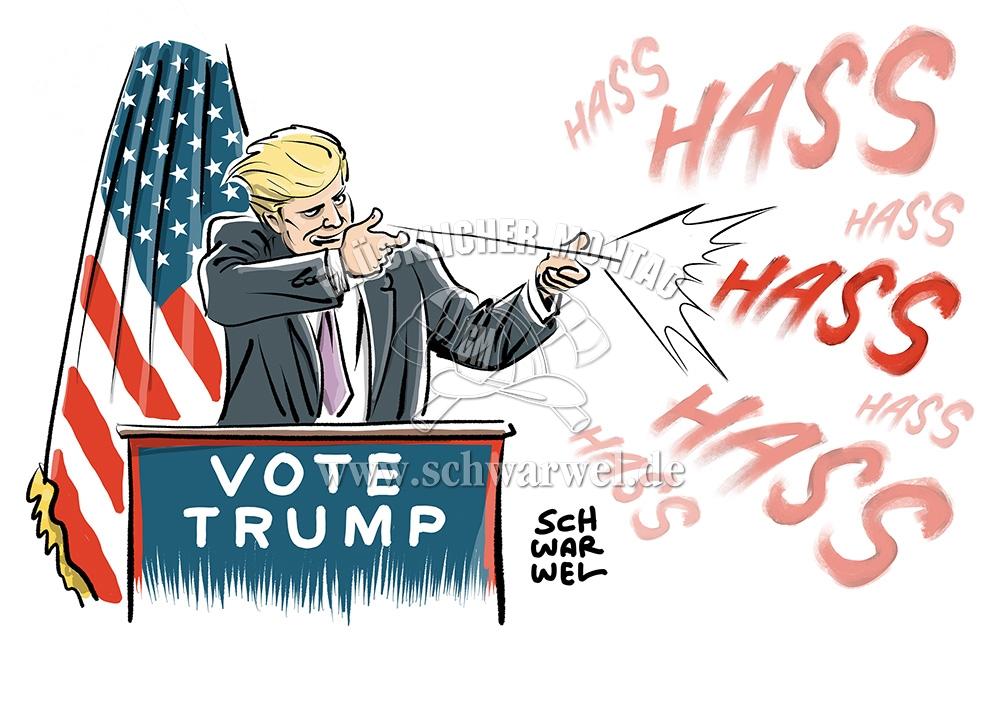 präsidenten wahl amerika
