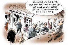 karikatur-schwarwel-fluechtlingskrise-fluechtlinge