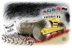 karikatur-schwarwel-syrien-krieg-konferenz-muenchen