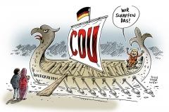 karikatur-schwarwel-integration-cdu-merkel-fluechtlinge