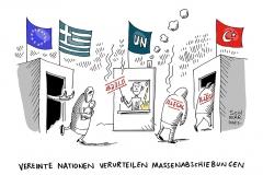 karikatur-schwarwel-abschiebung-flüchtlinge-flüchtlingspolitik