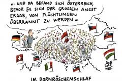 karikatur-schwarwel-austria-oesterreich-grenze-fluechtlinge-flüchtlingskrise