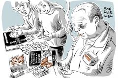 karikatur-schwarwel-schockbilder-zigarettenschachteln-zigarette-rauchen
