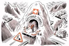 karikatur-schwarwel-gotthard-tunnel