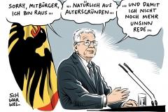karikatur-schwarwel-gauck-bundespräsident-amtszeit