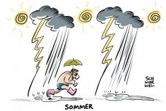 karikatur-schwarwel-wetter-unwetter