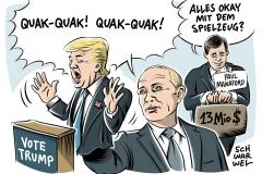 karikatur-schwarwel-donald-trump-us-usa-putin-russland-connection