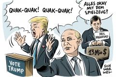 karikatur-schwarwel-donald-trump-us-usa-putin-russland-connection