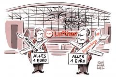karikatur-schwarwel-ryanairbillugfluege-lufthansa-frankfurt-airport-flughafen-billigflieger