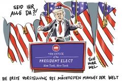 karikatur-schwarwel-donald-trump-pressekonferenz