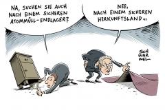 karikatur-schwarwel-herkunftsland-fluechtlinge-gefluechtete-abschiebung-politik