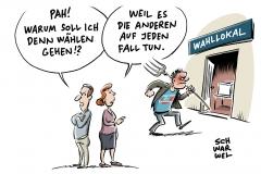karikatur-schwarwel-waehlen-gehen-wahl