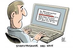 karikatur-schwarwel-staatstrojaner-ueberwachungsgesetz-ueberwachungsstaat