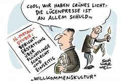 karikatur-schwarwel-studie-medien-journalismus-berichterstattung-fluechtlinge-gefluechtete-ig-metall