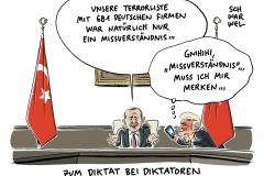 karikatur-schwarwel-erdogan-tuerkei-diktatur-terrorliste-deutscher-unternehmen-daimler-mercedes