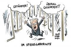 Abschiebepläne: Viele Gefährder haben einen deutschen Pass