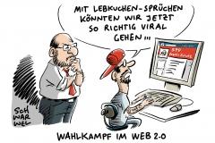 Parteien online im Wahlkampf: Kommunikation im Web 2.0 nicht verstanden