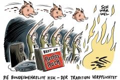 Hitlergruß bei Abschiedsfeier? Bundeswehr ermittelt gegen KSK-Elitekämpfer