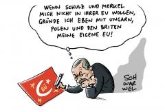 Stellung beziehen im TV-Duell: Schulz und Merkel sprechen sich gegen türkischen EU-Beitritt aus