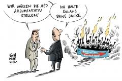 AfD-Wahlkampftaktik: Parteien und Medien hadern mit richtigem Umgang