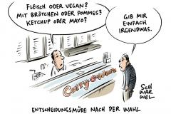 """Nach Bundestagswahl: Entscheidungsmüdigkeit nach Wahlschlacht"""""""