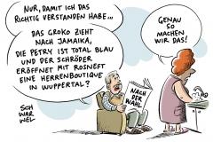 Deutschland nach der Wahl: Parteien versuchen, sich zu ordnen