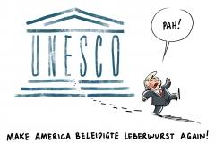 Zum 31. Dezember: USA treten aus UNESCO aus