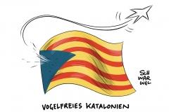 Unabhängigkeitsstreit in Katalonien: Katalanisches Parlament stimmt für Unabhängigkeit, Madrid stimmt für Entmachtung