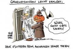 Reformationstag 2017: 500 Jahre Luthers Thesenanschlag in Wittenberg