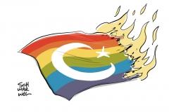 Türkei begründet mit Sicherung der öffentlichen Ordnung: Veranstaltungen von Schwulen und Lesben verboten