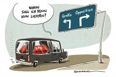 Schulz eröffnet SPD-Parteitag: Schulz wirbt für ergebnisoffene GroKo-Gespräche, Jusos bleiben bei NoGroKo