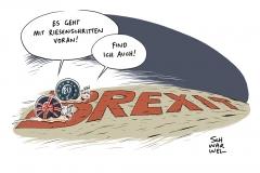 """Brexit-Durchbruch zu Phase Zwei: Juncker sieht """"genügend Fortschritte"""" nach zähem Ringen"""