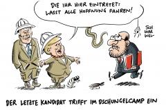 Mögliche Große Koalition: SPD-Führung für Sondierung mit Union