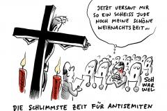 Video schlägt Wellen im Netz: Antisemit pöbelt vor israelischem Lokal in Berlin-Schöneberg