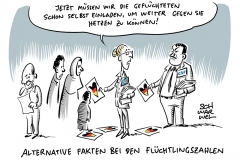 Deutsche Asylpolitik: Flüchtlingszahlen sinken, trotzdem noch schärfere Maßnahmen geplant + Alternative Fakten: Unwort des Jahres 2017