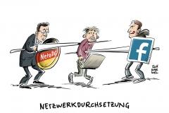 NetzDG: Facebook will mit 10.000 neuen Mitarbeitern gegen Hetze vorgehen