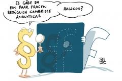 Datenskandal bei Facebook: Datenfirma Cambridge Analytica nutzt 50 Mio. Nutzerdaten