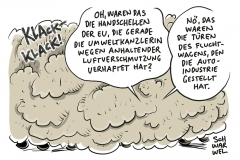 Zu wenig Maßnahmen gegen Luftverschmutzung: EU-Kommission verklagt Deutschland