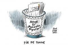 """Streit mit Merkel über geplante Zurückweisung von Asylbewerbern: Seehofer sagt Präsentation von """"Masterplan Migration"""" ab"""