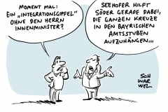 Seehofer sagt Teilnahme ab: Integrationsgipfel ohne Innenminister