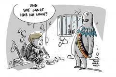 Asylstreit in der Union: Merkel bekommt von Seehofer Zwei-Wochen-Frist