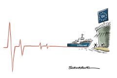 Italien und Malta verweigern ,Lifeline' den Hafen: Hunderte Flüchtlinge sitzen im Mittelmeer fest