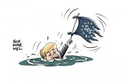 EU-Sondertreffen: Merkel sucht Ausweg aus Asylstrei
