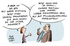 Stiftungsbeschluss bei Bundesparteitag in Augsburg: AfD schleicht in den Mainstream