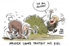 Merkel und Seehofer: Jahrelanges Kräftemessen