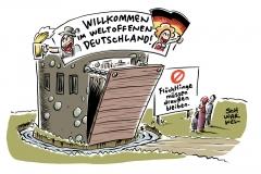 Kurz und Seehofer einigen sich: Mittelmeerroute soll dicht gemacht werden