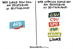 Streit um Flüchtlingspolitik: AfD zieht in Umfrage mit SPD gleich