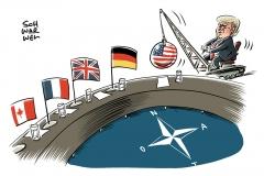 Verteidigungsausgaben der NATO: Trump attackiert Verbündete