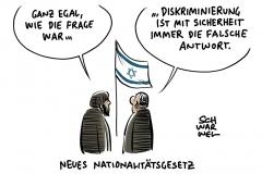 Neues Nationalitätsgesetz: Israels neues Gesetz enthält Potenzial zur Spaltung